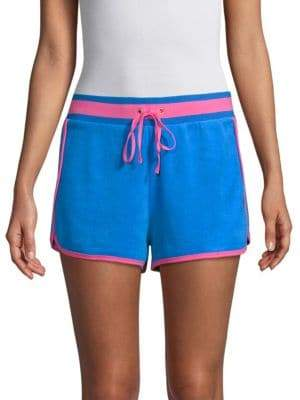 Juicy Couture Two-Tone Drawstring Shorts