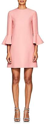 Valentino Women's Wool-Silk Crepe Shift Dress - Candy