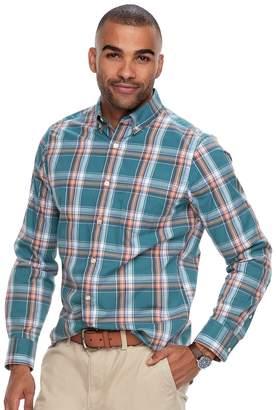 Sonoma Goods For Life Men's SONOMA Goods for Life Flexwear Modern-Fit Stretch Poplin Button-Down Shirt