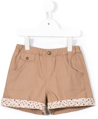 Familiar floral detail shorts