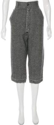 Dolce & Gabbana High-Rise Straight-Leg Pants