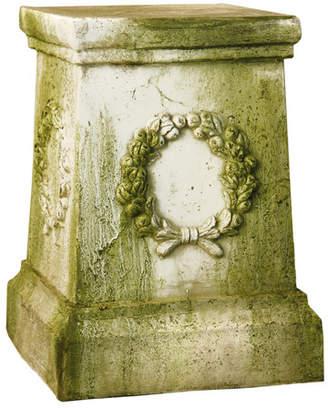 Orlandi Statuary OrlandiStatuary Wreath Outdoor Pedestal