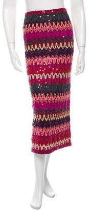 Missoni Wool Patterned Skirt