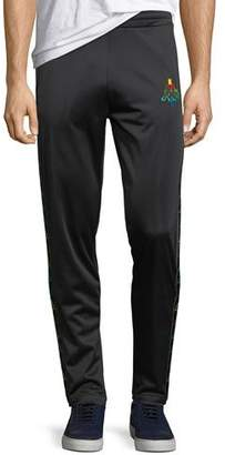 Marcelo Burlon County of Milan Multicolor Kappa Straight-Leg Jersey Sweatpants