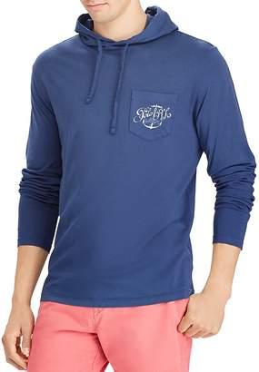 Polo Ralph Lauren Custom Slim Fit Hooded T-Shirt