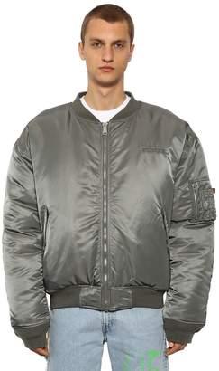 Vetements Alpha Reversible Oversize Puffer Jacket