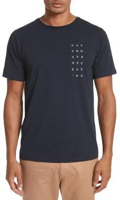 Saturdays NYC Stacked Graphic T-Shirt