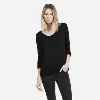 The Luxe Sweater U-Neck $68 thestylecure.com