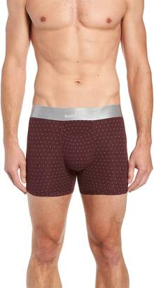 Tommy John Second Skin Crescent Dot Titanium Trunks