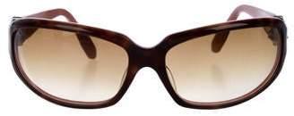 Kieselstein-Cord Gradient Tortoiseshell Sunglasses