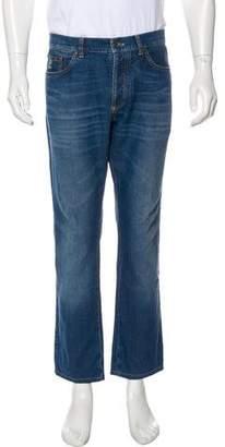 Brunello Cucinelli Woven Skinny Jeans