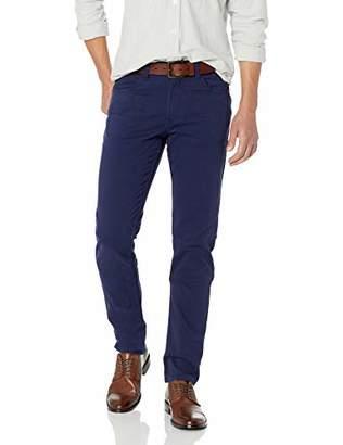 Bugatchi Men's Five Pocket Cotton Pant