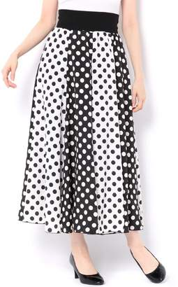 And Couture (アンド クチュール) - アンドクチュール ドットミックスロングスカート