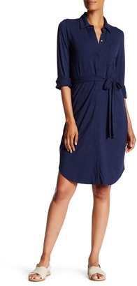 Tommy Bahama Tambour Belted Shirt Dress $158 thestylecure.com