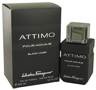 Salvatore Ferragamo Attimo Black Musk by Eau De Toilette Spray 3.4 oz