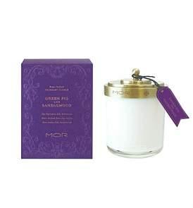 MOR Fragrant Candle 380G Green Fig & Sandalwood