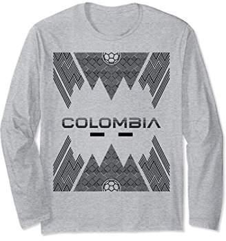 Colombia Football Soccer Championship Long Sleeve Shirt