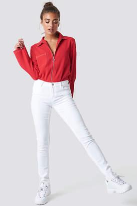 MANGO Paty Jeans White