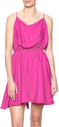 Blaque Label Silk X Back Dress
