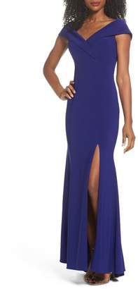 Xscape Evenings Off the Shoulder Gown