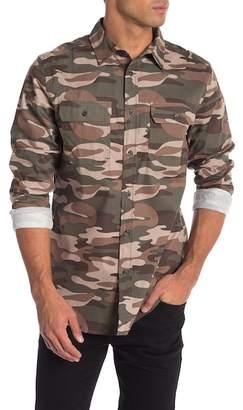 Como Man Camo Long Sleeve Shirt