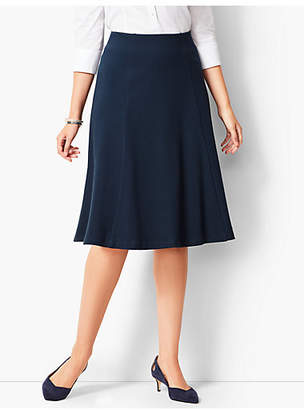 Talbots Herringbone Fit & Flare Skirt