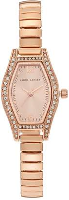 Laura Ashley Women's Crystal Expansion Watch