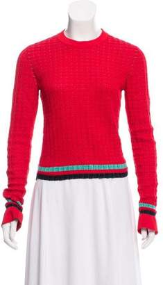 3.1 Phillip Lim Patterned Knited Sweater