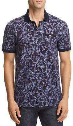 Ted Baker Softi Tropical Print Regular Fit Polo - 100% Exclusive