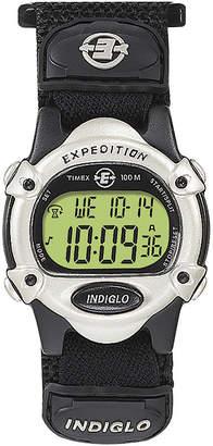 Timex Expedition Black Nylon Fast Strap Digital Watch T478529J