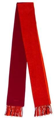 Hermà ̈s Colorblock Knit Stole Orange Hermà ̈s Colorblock Knit Stole
