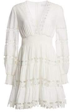 Zimmermann Primrose Daisy Lace Mini Dress