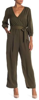 Lucca Couture Straight Leg Woven Jumpsuit