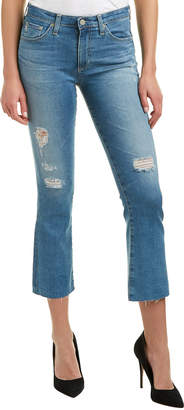 AG Jeans The Jodi 12 Years Canyon Destroyed High-Rise Slim Flare Crop