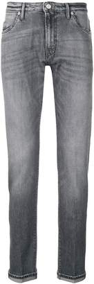 Pt05 faded effect skinny jeans