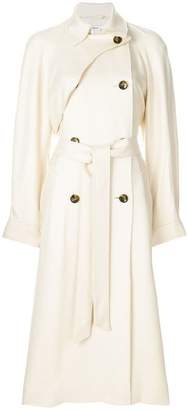 Elizabeth and James raw-edge trench coat