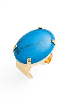 Women's Nordstrom Semiprecious Stone Cocktail Ring $29 thestylecure.com
