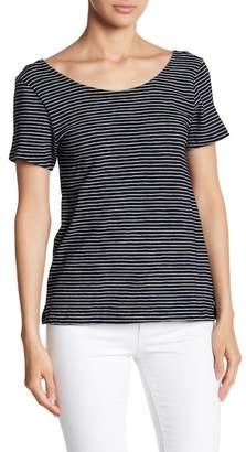 BB Dakota Kaiya Striped Short Sleeve Top