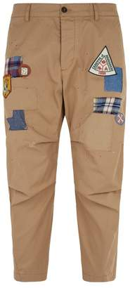 DSQUARED2 HockneyCropped Trousers