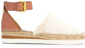 See By Chloé ankle strap espadrilles $164.89 thestylecure.com