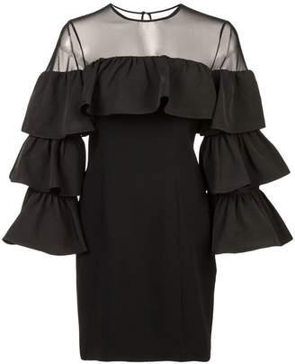 Cinq à Sept tiered sleeve dress