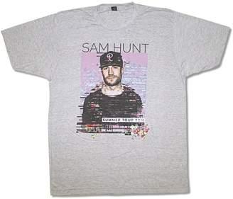 SAM. Real Swag Inc Hunt Pixels Summer Tour 2016 Mens Heather Grey T Shirt Adult (M)