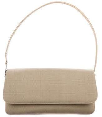 Stuart Weitzman Canvas Shoulder Bag
