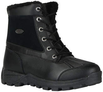 Lugz Tambora Mens Mid Water-Resistant Work Boots