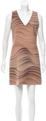 Marc Jacobs Printed Wool Shift Dress