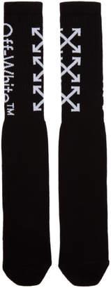 Off-White Black and White Arrows Socks