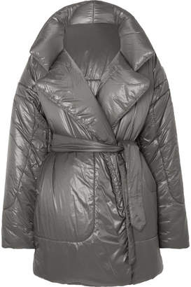 Norma Kamali Sleeping Bag Oversized Shell Coat - Gray