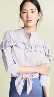 M.PATMOS Frida Ruffle Shirt