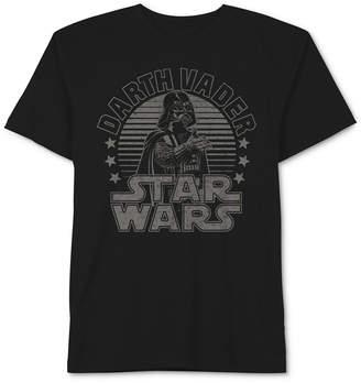 Star Wars Darth Vader Graphic-Print Cotton T-Shirt, Big Boys