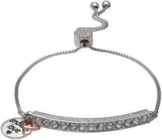 909f795a6 Brilliance+ Brilliance Silver Plated Swarovski Crystal Bar